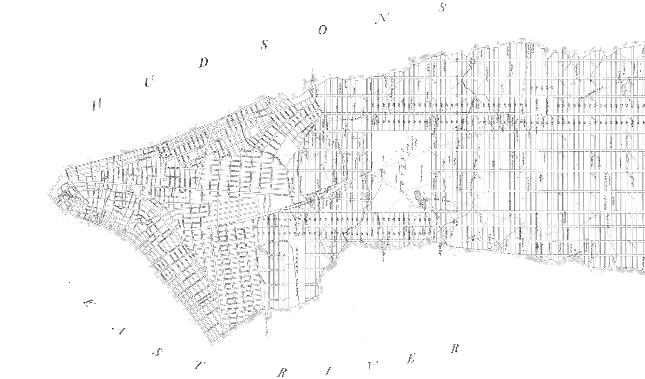 Map of New York symbolizing how modular grid system improves content design.