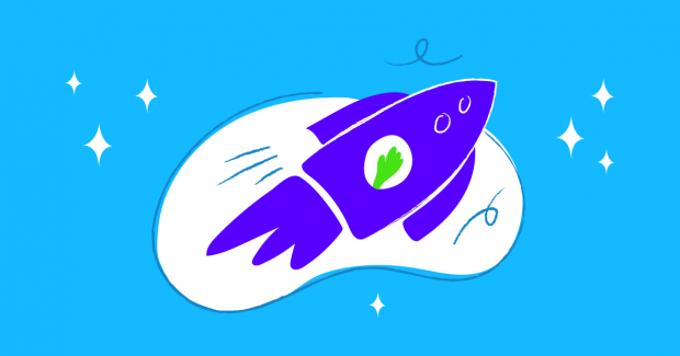 Illustration of rocket