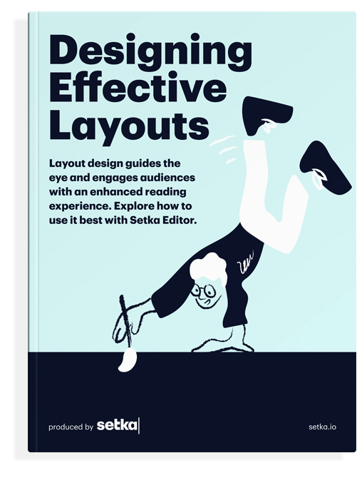 "The front cover of the book ""Improving Content Comprehension With Layouts."""