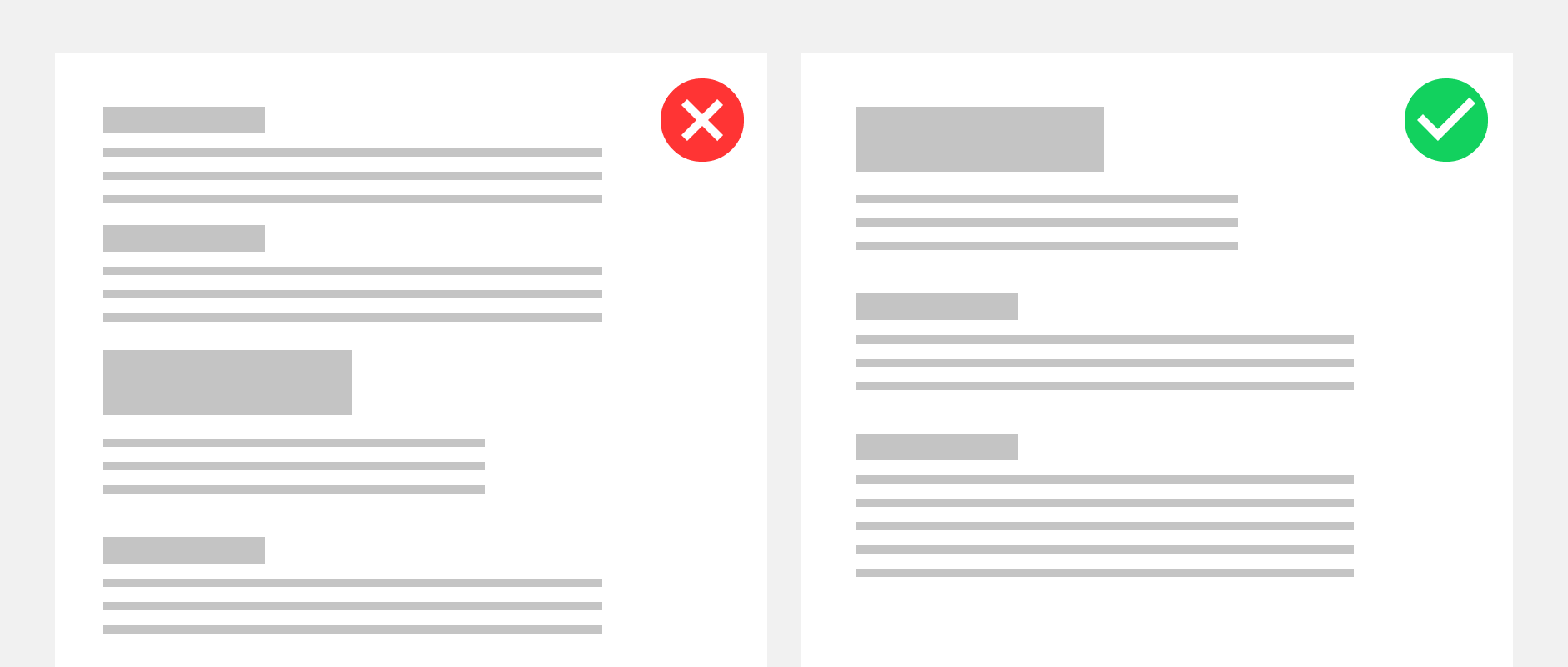 Example of layout style.