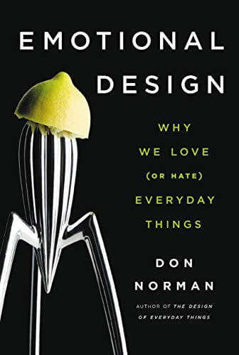 """Book cover of """"Emotional design"""" by Don Norman"""